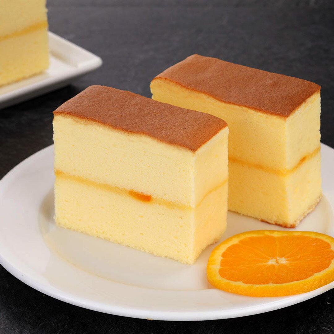 【不二緻果-高雄不二家】香橙騎士 ★輕乳酪蜜漬香橙蛋糕★