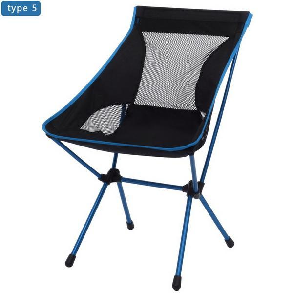 Camp Chair Ground Lightweight and Durable Construction Outdoors Garden 3