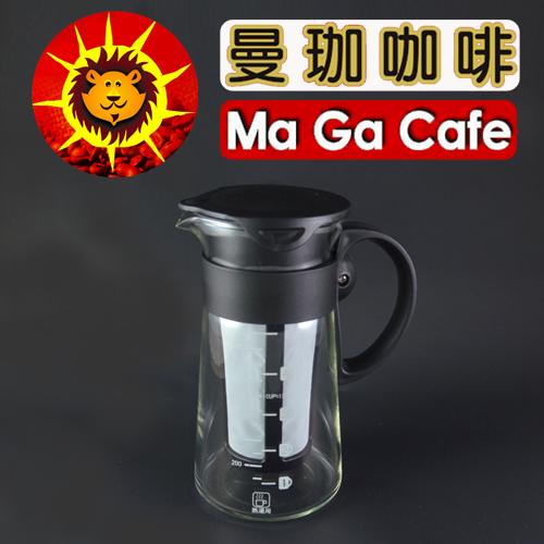 曼珈咖啡:【曼珈咖啡】日式典雅咖啡壺700ml