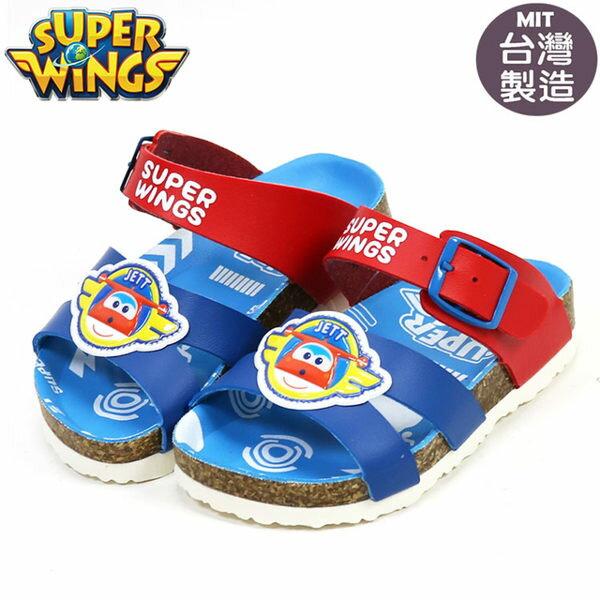 EMMA商城~超級飛俠SuperWings杰特氣墊雙條拖鞋.童鞋.藍14-17號