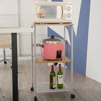 居家生活廚房用品推薦電器架/廚櫃/收納架 三層電器微波爐架 MIT台灣製 完美主義【E0022】好窩生活節。就在完美主義居家生活館居家生活廚房用品推薦