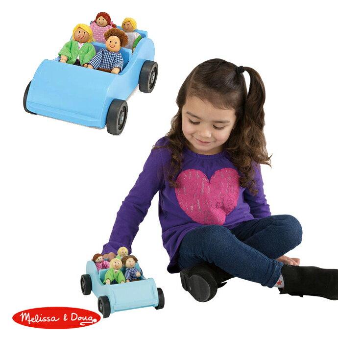 ~華森葳兒童教玩具~建構積木系列~Melissa  Doug 旅遊敞篷小車 N7~2463