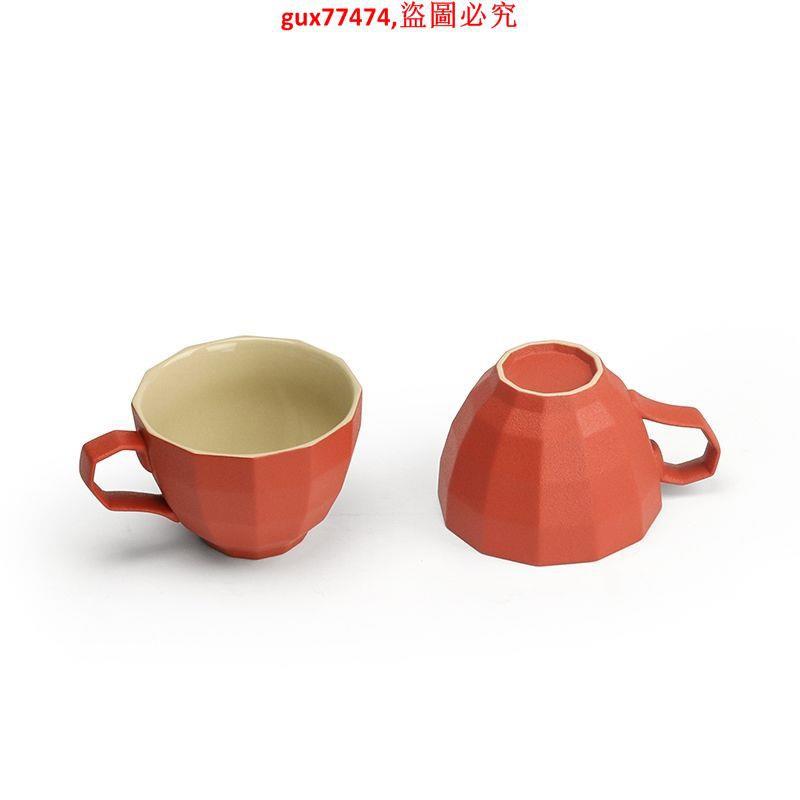 咖啡杯中式喜慶小奢華早餐杯家用帶勺馬克杯生日禮物結婚禮品 艾琴海小屋