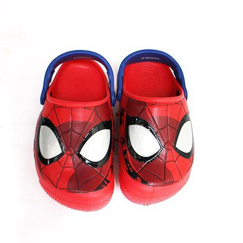 免運Crocs卡駱馳漫威蜘蛛人童鞋燈鞋涼拖鞋洞洞鞋鱷魚鞋205018-8C1{陽光運動}