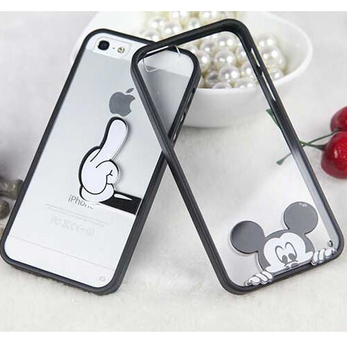 iphone6 6sPlus 米奇小丸子卡通透明殼手機殼保謢套