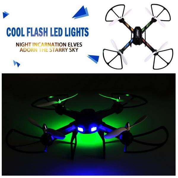 2.4GHz 4 Channels 6 Axis Gyro Eversion CF mode One Key Automatic Return with Light RC Quadcopter 5