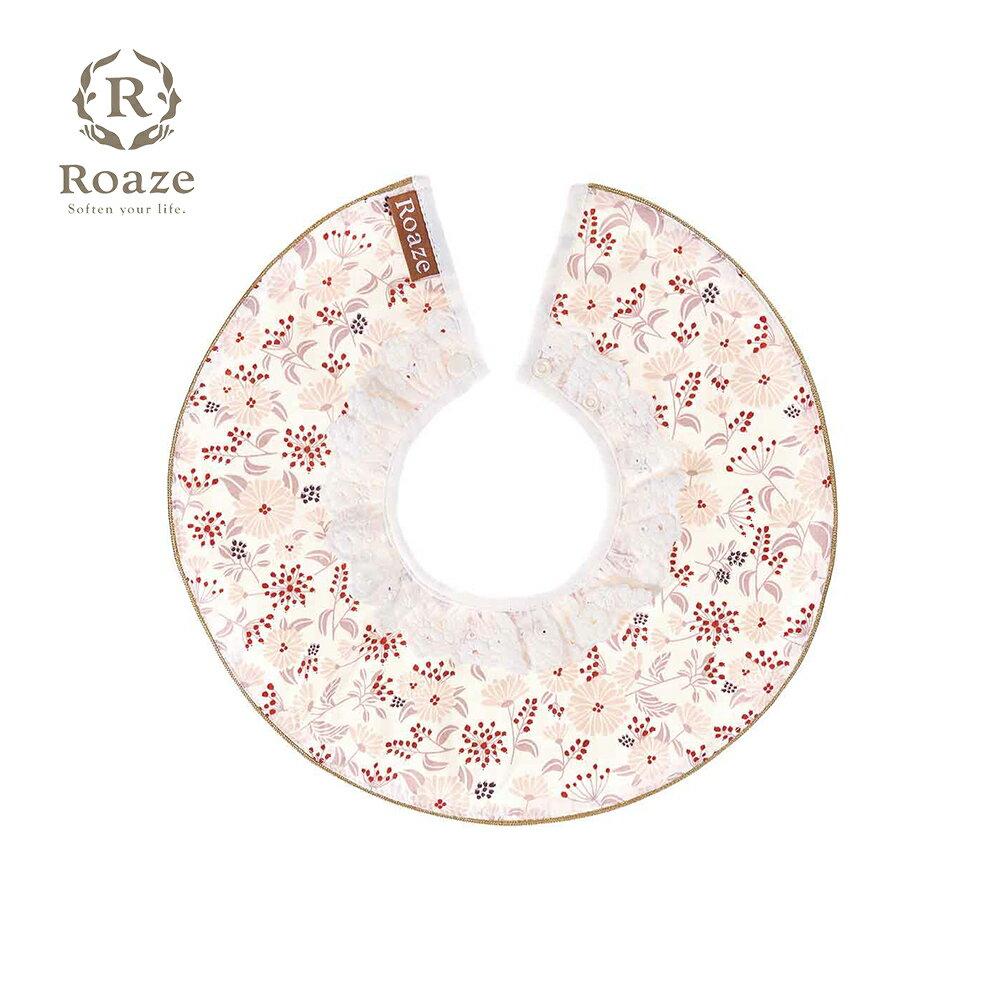 【Roaze】柔仕純真圍兜 點點紅花