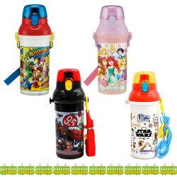 SKATER 迪士尼 cars 公主 星際大戰 彈蓋直飲式水壺 冷水壺 冷飲壺 彈蓋水壺 日本進口正版 366338