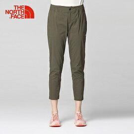 [THENORTHFACE]女舒適透氣男友褲綠公司貨NF0A3CIP21L
