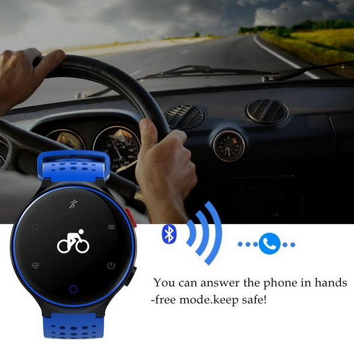 Bluetooth Smart Watch Heart Rate Monitor Blood Pressure Waterproof Smartband 2
