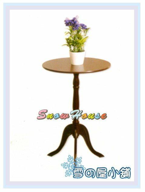 ╭~雪之屋居家 館~╯AA564~06米朗琪小桌^(胡桃色^) 小茶几 電話几 花盆架 置
