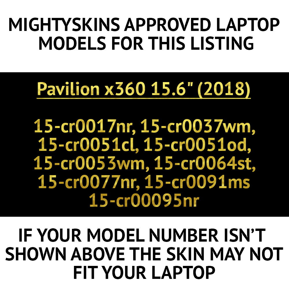 "MightySkins Skin Compatible With HP Pavilion x360 15.6"" (2018 ..."