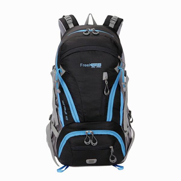 【FREEKNIGHT】45L可擴充休閒背包登山包FK0212BK