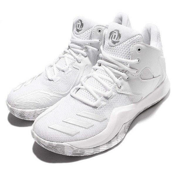 【ADIDAS】D ROSE 773 V 籃球鞋 運動鞋 白色 男鞋 -B49720【SS感恩加碼 | 單筆滿1000元結帳輸入序號『SSthanks100』現折100元】
