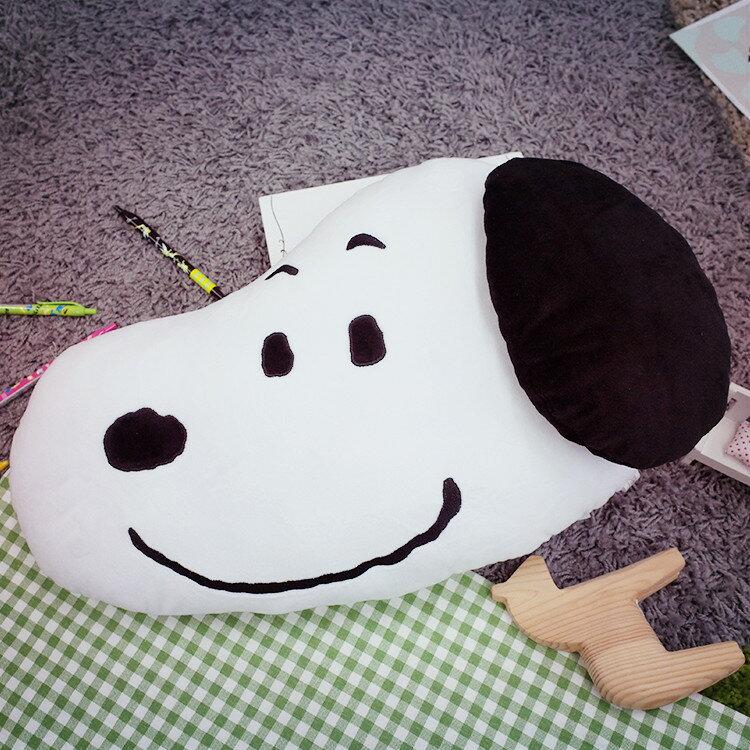 PGS7 日本史努比系列商品 - 日本 史努比 史奴比 Snoopy 細緻 絨毛 頭型 抱枕 娃娃【SJJ61250】