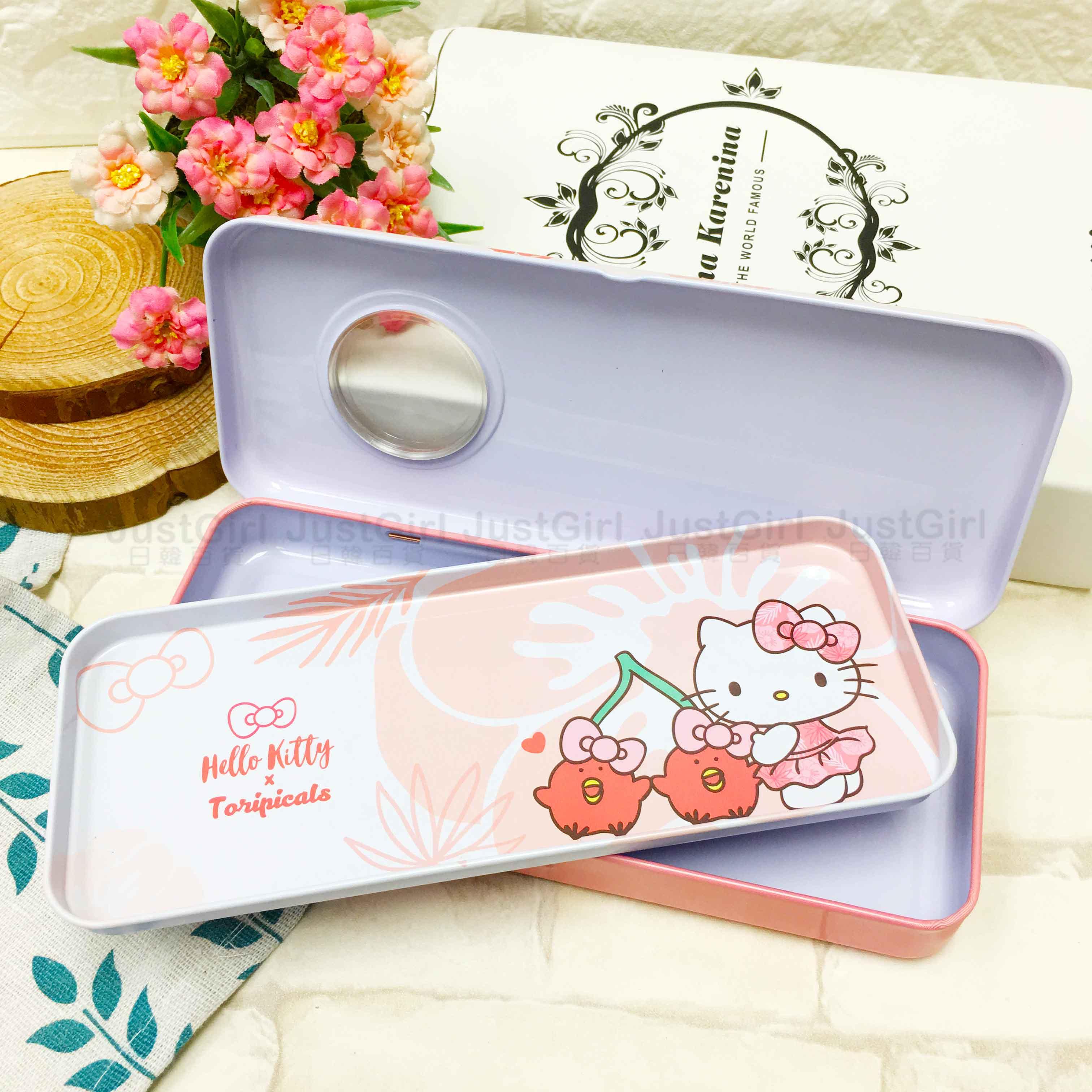 雙層鐵筆盒 三麗鷗 Hello Kitty 布丁狗 2款 造型鉛筆盒 正版授權