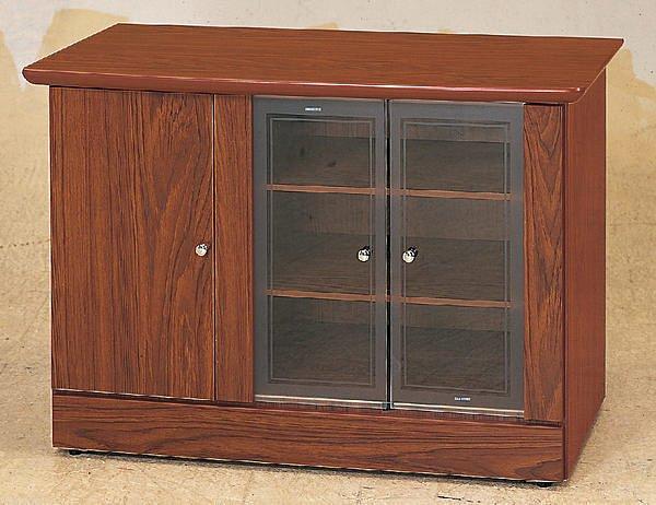 【尚品家具】111-01 柚木3尺電視櫃矮櫃儲櫃長櫃~另有白橡胡桃山毛色、2尺、4尺