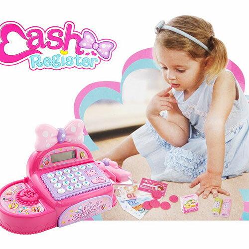 公主超市收銀機寶寶益智兒童仿真過家家玩具女孩生日禮物聖誕節