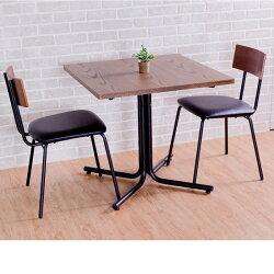 日式餐桌//茶几桌/工作桌/OAK原木仿古色 方形餐桌 Dining Table 復古工業風 MIT台灣製【Tasteful 特斯屋】