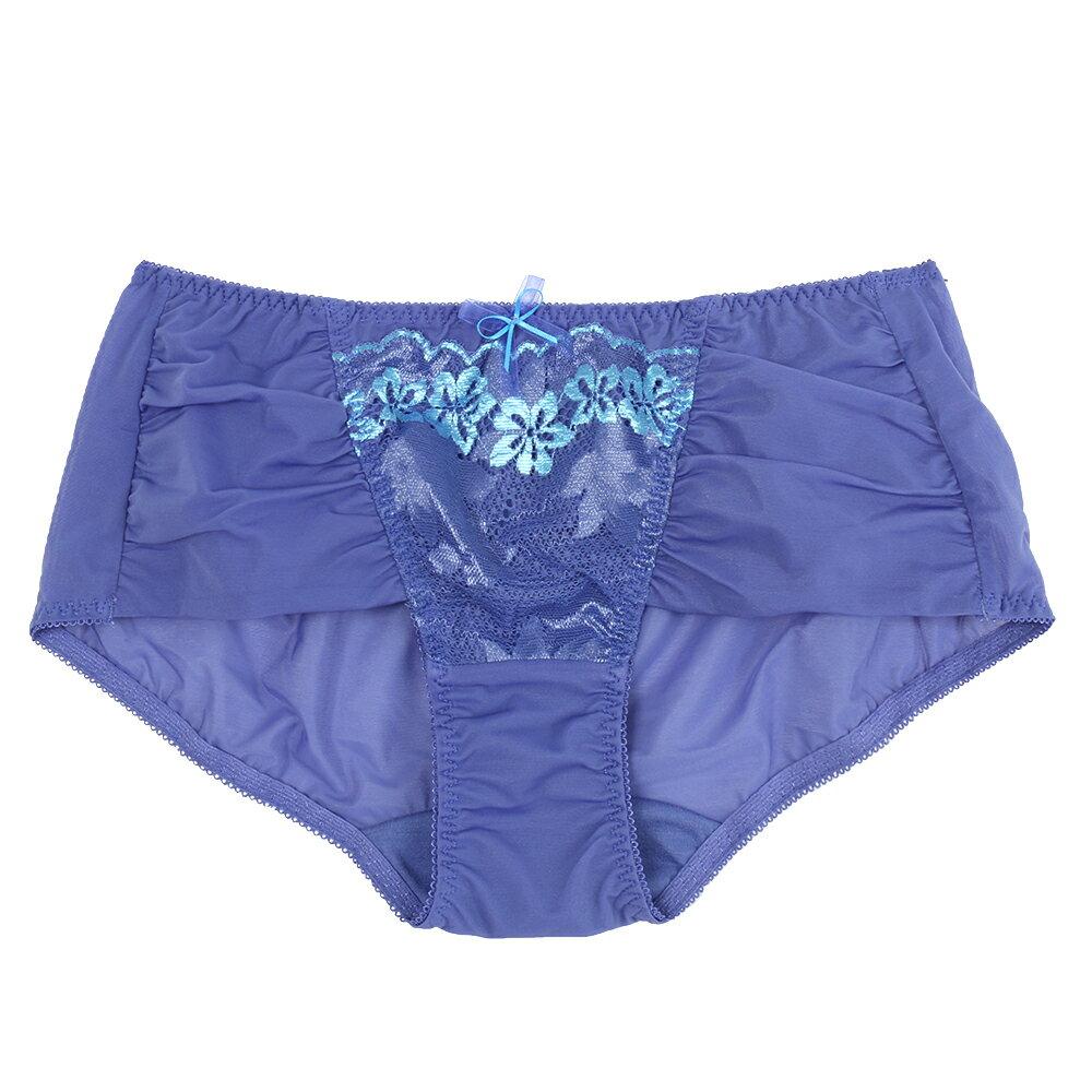 【Emon】花語寄情系列平口褲(海洋藍) 1