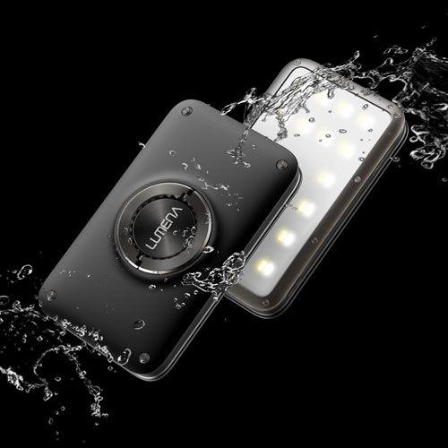 N9-LUMENA2 行動電源照明LED燈-星空黑 送S型雙面扣環