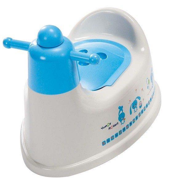 『121婦嬰用品館』亞米兔 幼兒握把便器(粉 / 藍) 2