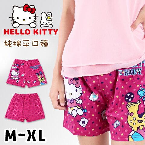 【esoxshop】HELLO KITTY 純棉平口褲 凱蒂貓與Rody馬戲團款 三麗鷗
