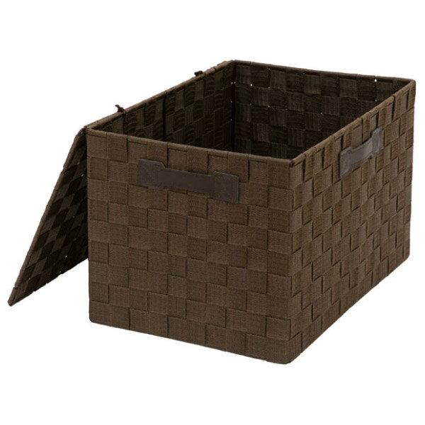 附蓋收納盒 TICS2 標準型 DBR NITORI宜得利家居 0