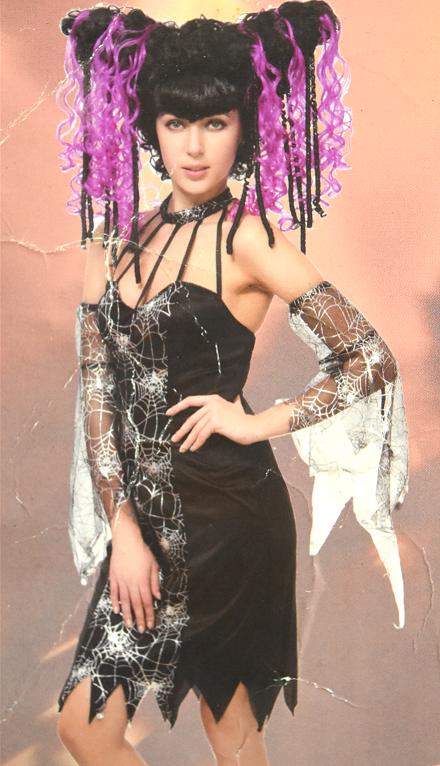 X射线【W380067】GAGA连身裙(附假发),死神/舞会/尾牙/万圣/圣诞/大人变装/cosplay/表演/性感/夜店/开趴/道具