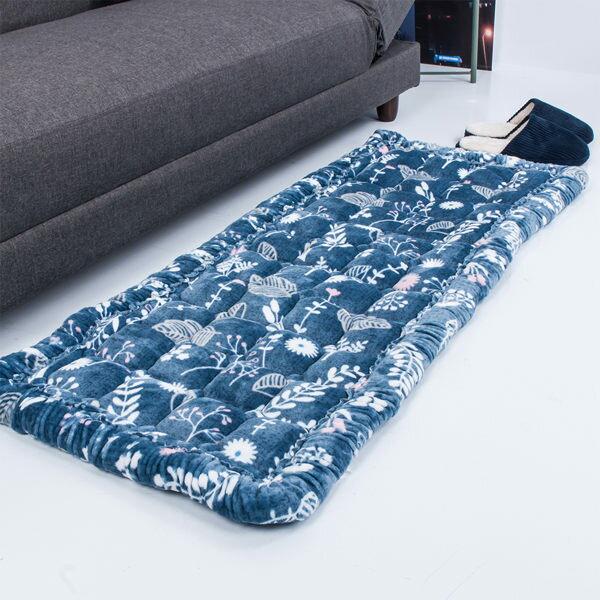 暖心秋冬法蘭絨地墊 榻榻米床墊 韓式饅頭墊-純手工 榻榻米床墊 坐墊│沙發墊 暖墊 鋪床 50×120 WARM
