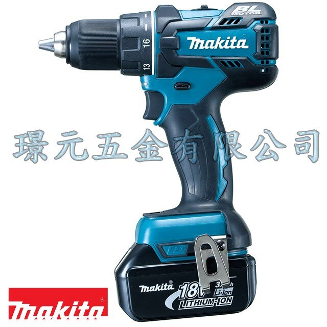 ☆ MAKITA 牧田 ☆ 無刷馬達 4分夾頭 18V充電電鑽/起子機 DDF480 (DDF480RTE/DDF480RME/DDF480RFE)