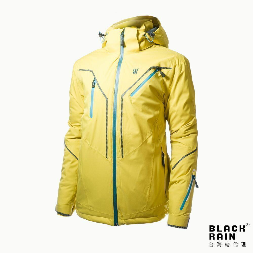 【荷蘭Black Rain】男 walmon 9嚴寒戶外多功能雪衣外套 BR-3009(3000 黃) 0