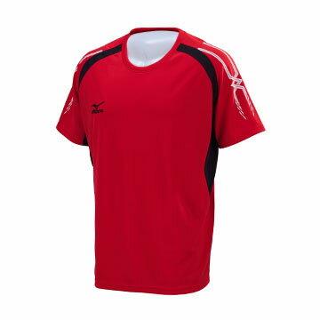 32TA750262(紅)吸汗快乾抗紫外線 MIZUNO MC-LINE 短袖T恤 【美津濃MIZUNO】