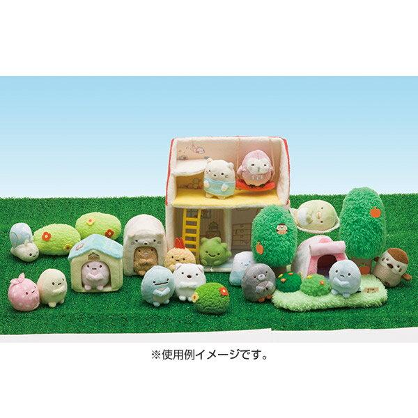 X射線【C697200】角落生物 Sumikko Gurashi 絨毛公仔-粉珍珠,絨毛 / 填充玩偶 / 玩具 / 公仔 / 抱枕 / 靠枕 / 娃娃 1