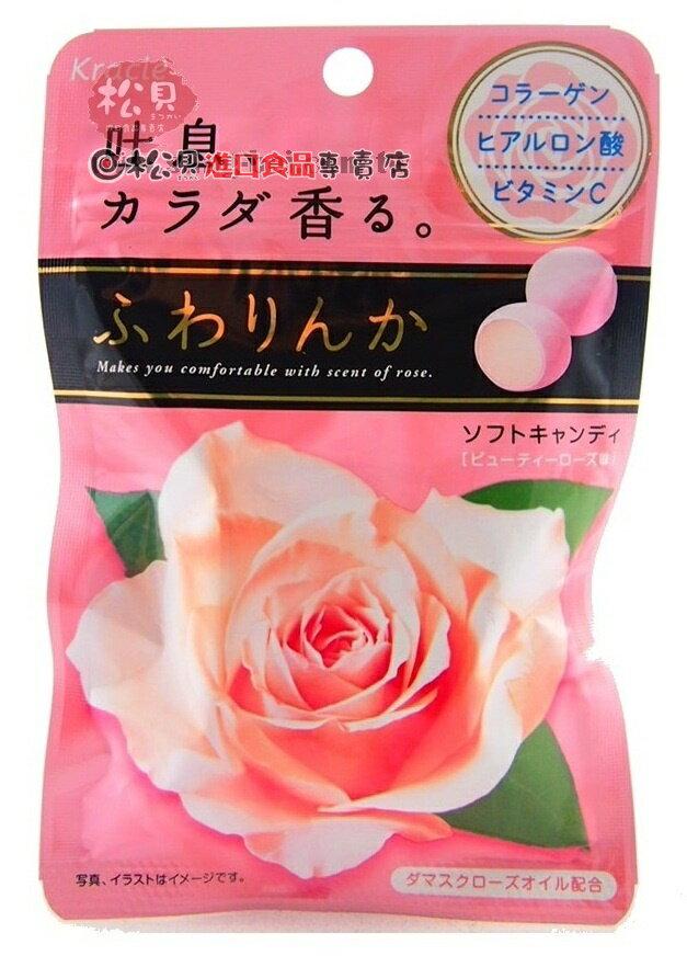Kracie玫瑰口袋糖32g【4901551338252】