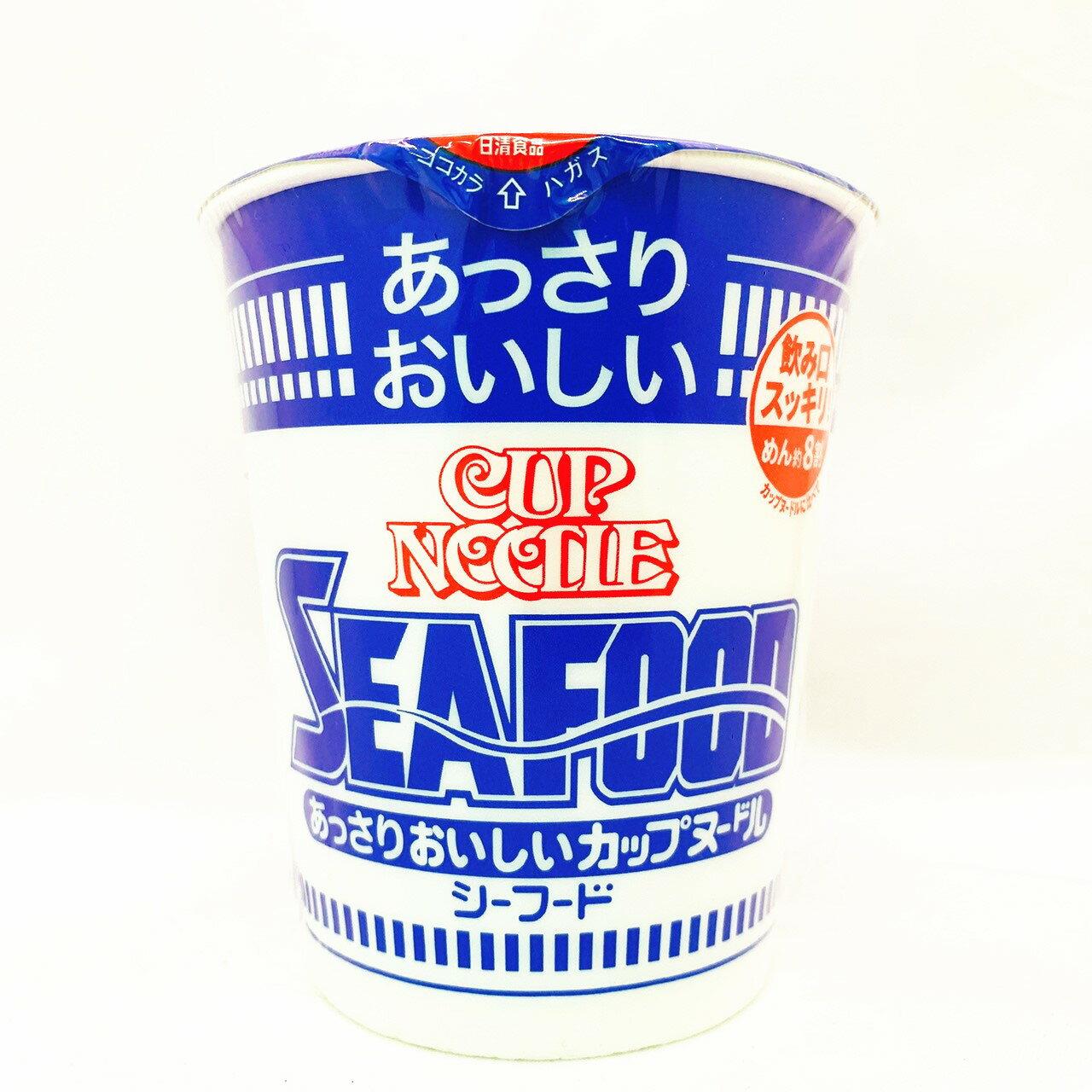 日清低卡杯麵  海鮮 醬油 咖哩 日本原裝