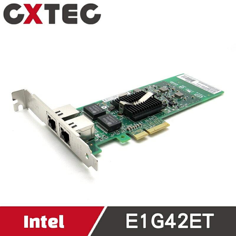Intel Gigabit ET 伺服器 PCI-E 82576 雙埠 網路卡 E1G42ETBLK E1G42ET