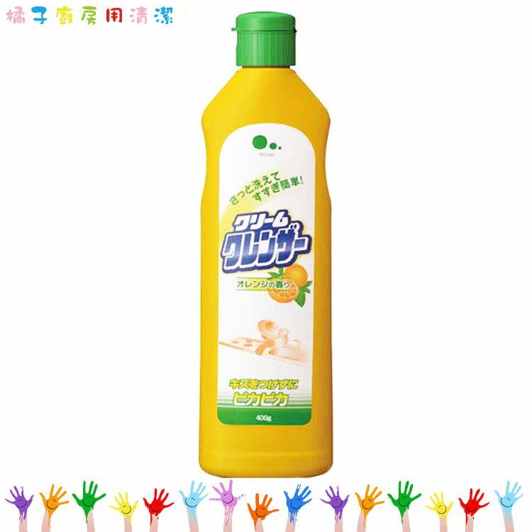 MITSUEI 廚房用清潔劑 廚房洗劑 強效清潔劑 天然橘子香 中性型 400g   3罐