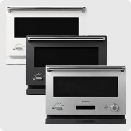 日本公司貨 附中說無食譜 BALMUDA【K04A】微波烤箱 18L 液晶顯示 過年不打烊