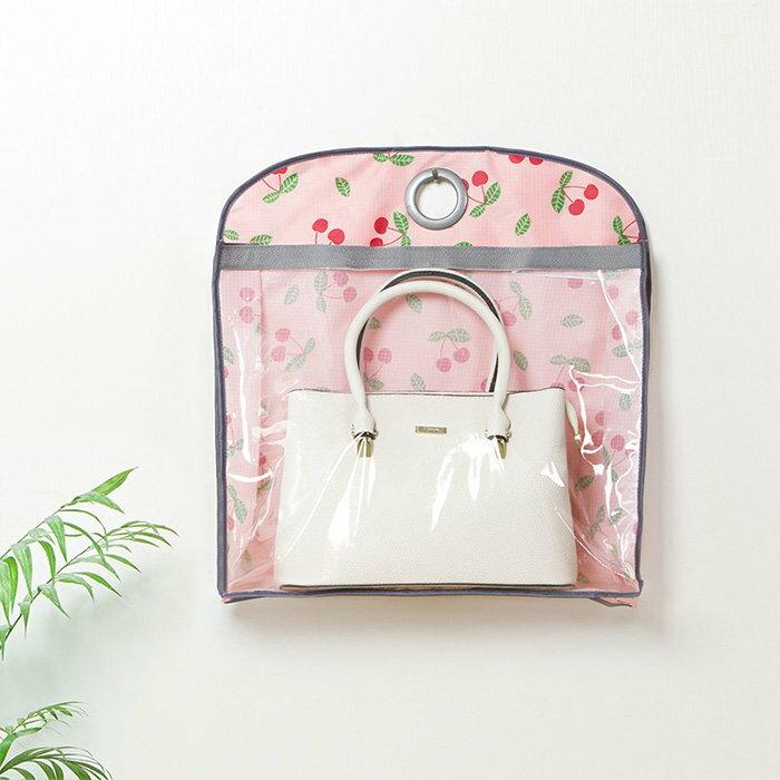 牛津布包包收納袋 印花款 皮包防塵袋 雙面衣櫃收納袋【SV7500】快樂生活網