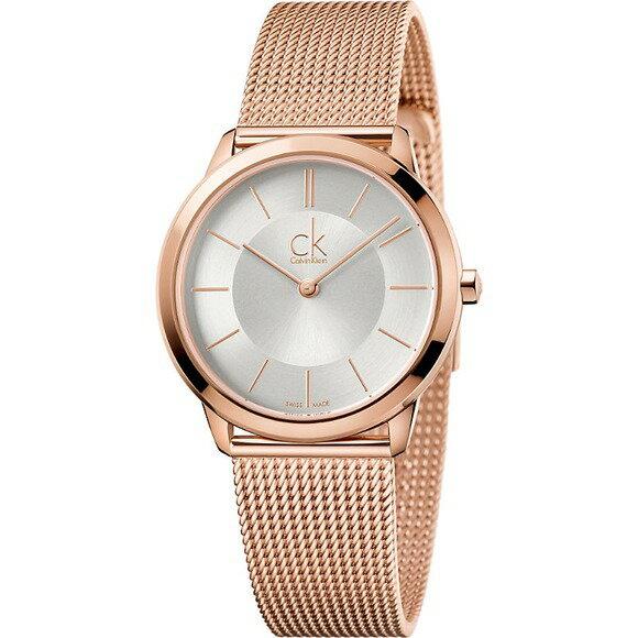 【錶飾精品】ck手錶 Calvin Klein 玫瑰金米蘭帶時尚女錶 K3M22626-中 全新原廠正品 情人生日禮物