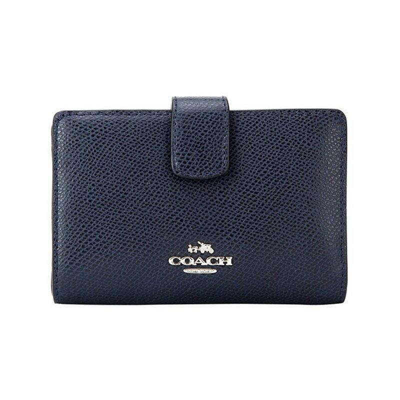 (Smile) COACH F53436 錢包女式新款短款/中長款錢包折疊拉鏈錢夾