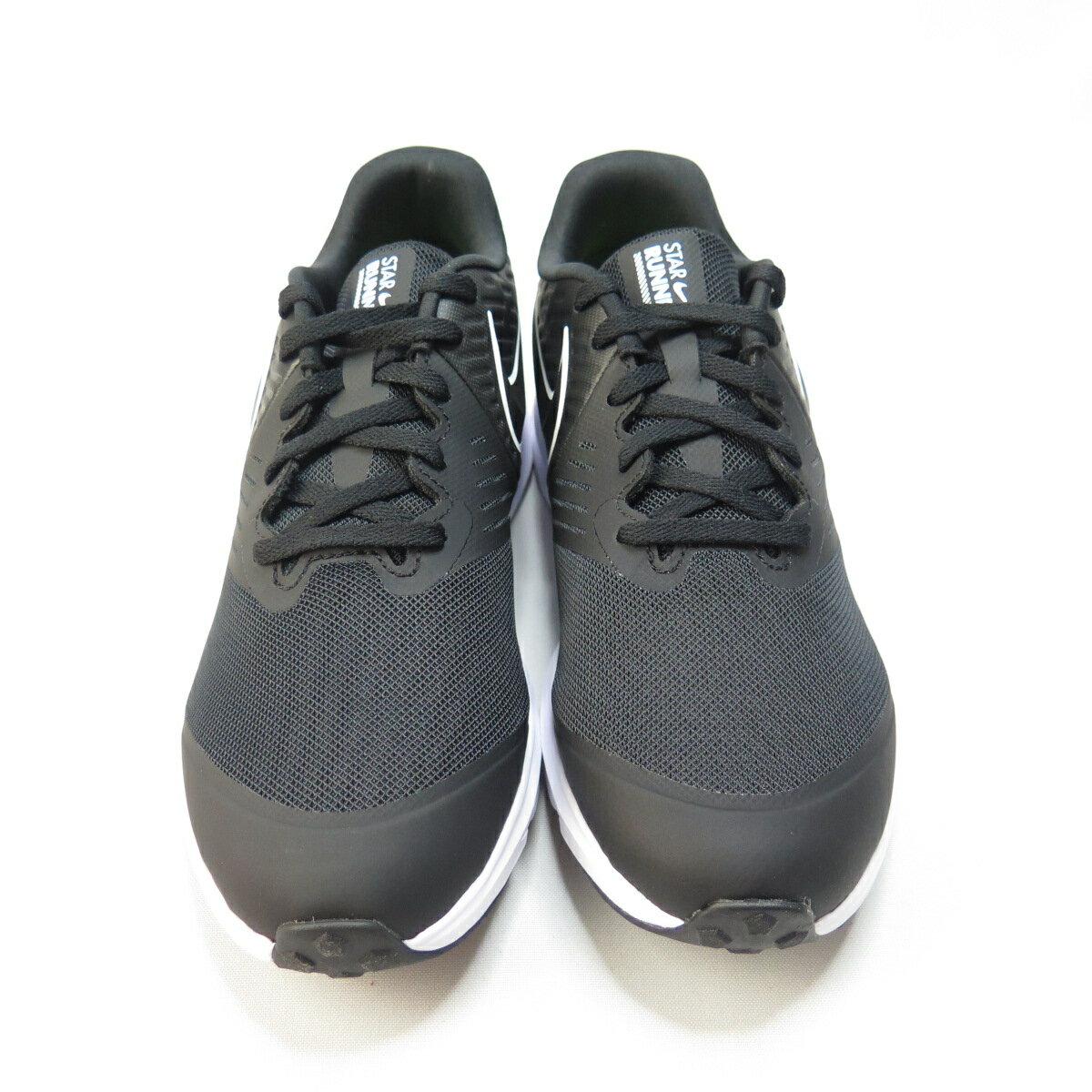 NIKE STAR RUNNER 2 (GS) 慢跑鞋 正品 AQ3542001 大童 黑【iSport愛運動】
