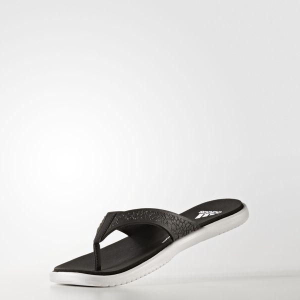 ADIDASBEACHCLOUDCLOUDFOAMTHONGSANDALS女鞋拖鞋休閒柔軟舒適快乾黑【運動世界】BB0505