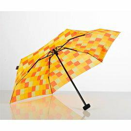【鄉野情戶外用品店】 EuroSCHIRM |德國|  Dainty 輕巧迷你晴雨傘/玻璃纖維輕便雨傘-方格黃/1028