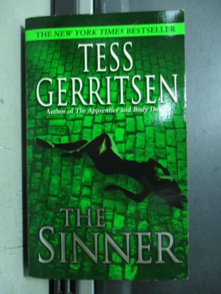 【書寶二手書T2/原文小說_OQF】The sinner_Tess gerritsen