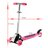 New Cute Kids Adjustable Folding Alloy Four Wheels Foot Scooter 2