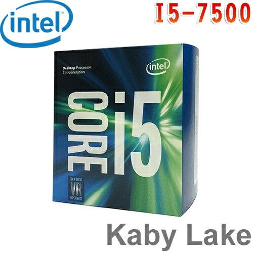 Intel英特爾 Core i5-7500 處理器