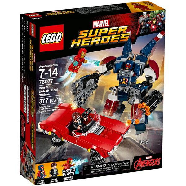 樂高積木 LEGO《 LT76077》SUPER HEROES 超級英雄系列 - Iron Man: Detroit Steel Strikes