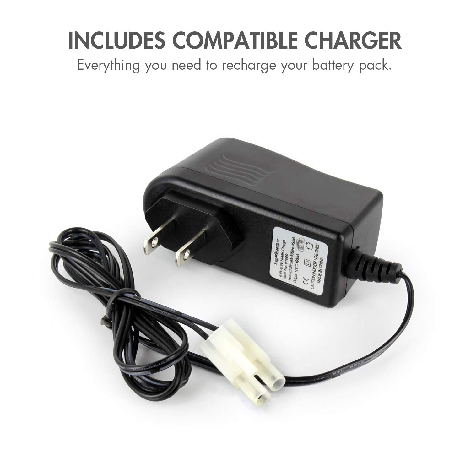 8AA sized Battery Eliminator Power Adapter 12V DC Replace 8 AA with power supply
